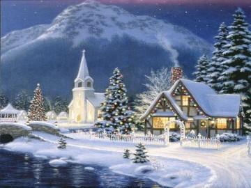 http://i01.i.aliimg.com/wsphoto/v0/352921121/Thomas-font-b-Kinkade-b-font-painting-repro-font-b-Christmas-b-font-Village-Guaranteed-100.jpg